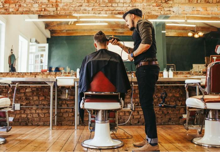 ir a la peluquería