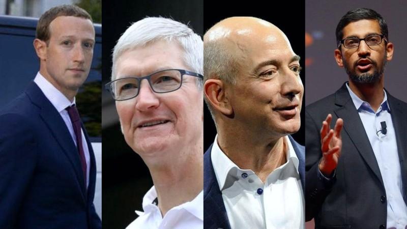 monopolios Apple Amazon Facebook Google